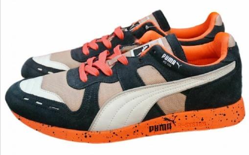 Puma RS-100 Speckle Schuhe Retro Sneaker Gr. EUR 35 - 45 R-System Herren Kinder