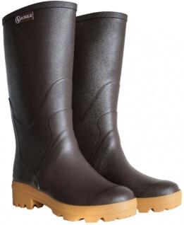 Aigle Chambord Pro Rubber L2 Damen Gummistiefel braun Rubber Pro Stiefel Gummi Reit-Stiefel 933bc0