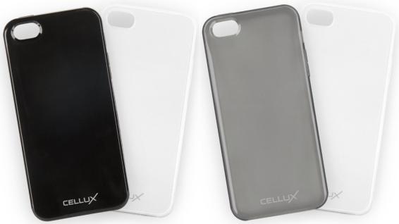 Cellux Soft Back-Case Cover Schutz-Hülle Tasche Schale für Apple iPhone SE 5 5S