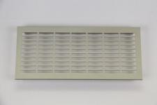 Lüftungsgitter aus Aluminium, Edelstahloptik, 250 x 110 mm
