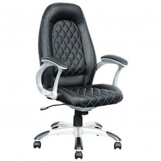 Bürostuhl Drehstuhl Chefsessel Mary Deluxe PU-Leder schwarz