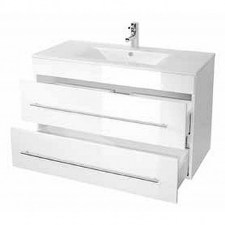 Badmöbel Badezimmer Waschbecken Waschplatz Aurora 1000 - Vorschau 2