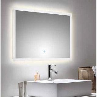 LED Spiegel Badezimmerspiegel 100 x 60 cm