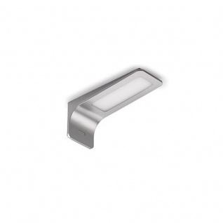 Leuchte Ledray 1 LED Einzelleuchte mit LED Touch Schalter u. Dimmer edelstahlfarbig