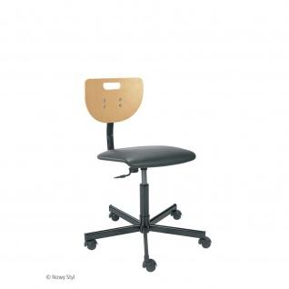 Arbeitsstuhl Bürostuhl Werek Plus höhenverstellbar