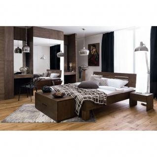 Modernes Einzelbett Doppelbett Massivholz Daisy Fall 375.44 Kernbuche/Buche