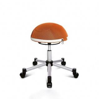 Hocker Sitness Half Ball orange