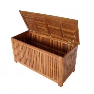 Auflagenbox Box 117x50x58, 5cm Akazie geölt
