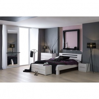 Modernes Einzelbett Doppelbett Massivholz Dahlia Summer 385.41