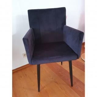 Stuhl Esszimmerstuhl schwarz Maße 57 x 58 x 91 cm