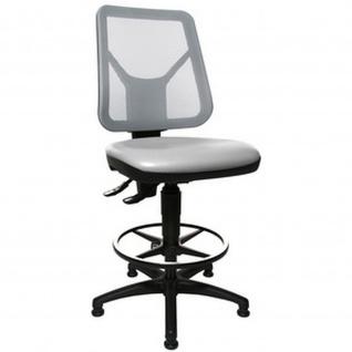 Topstar Arbeitsstuhl TEC 80 PK Counter Bezug: grau