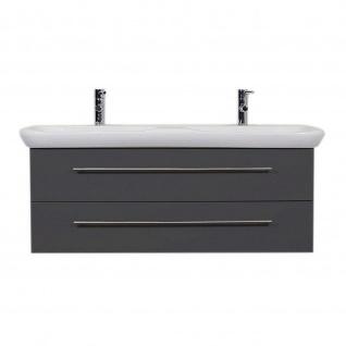 Posseik Waschbecken und Unterschrank 42x130x45cm