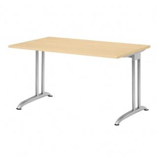 Hammerbacher Büro Schreibtisch 120x80 cm Modell BS12