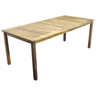 Gartentisch 90x200cm Akazie geölt