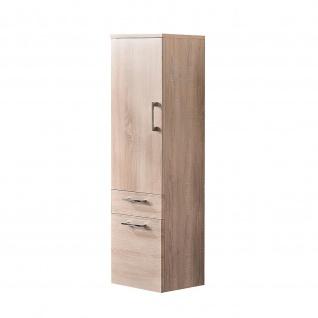 Badmöbel Badezimmer Gästebad Hochschrank Rima, gerade Hochglanz MDF-Fronten - Vorschau 4