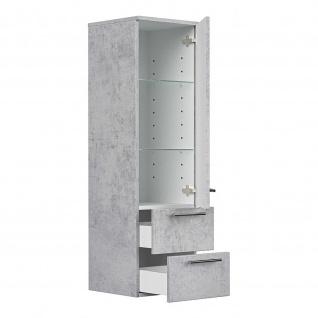 Posseik Badezimmer Badmöbel Hochschrank 36x35x120cm