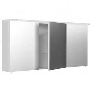 Posseik Schrank Spiegelschrank 17x140x62cm