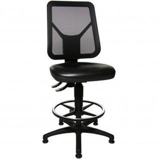 Topstar Arbeitsstuhl TEC 80 PK Counter Bezug: schwarz