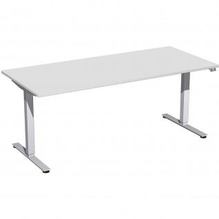 Elektro Smart Schreibtisch elektrisch höhenverstellbar 1800x800x700-1200 cm diverse Dekore - Vorschau 4