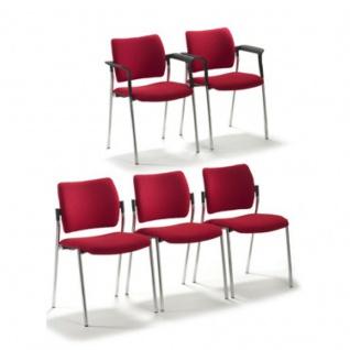 Mayer Wartezimmerstuhl Stapelstuhl CHOICE 2516 Sitz und Rücken gepolstert