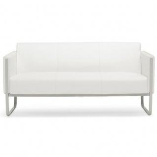 Lounger Sofa Coburg Kunstleder 3-Sitzer