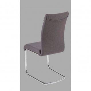 Stuhl Esszimmerstuhl PEDRO anthrazit Maße 44, 5 x 63 x 99 cm
