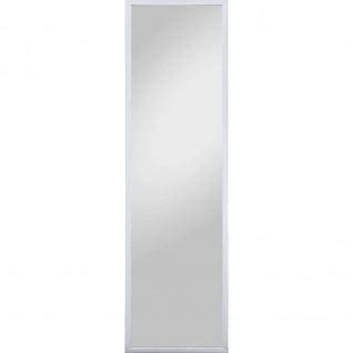 Rahmenspiegel Spiegel Bente 32x122 cm Edelstahloptik