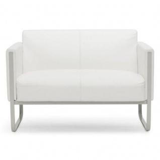 Lounger Sofa Coburg Kunstleder 2-Sitzer