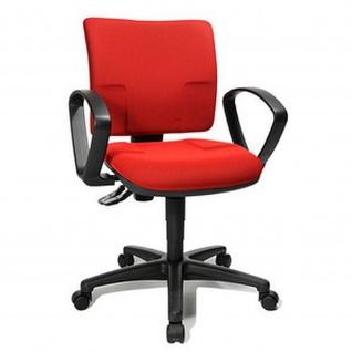 Topstar Bürodrehstuhl U 50 schwarz, blau oder rot