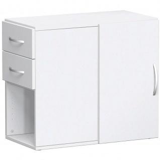 Gera Anstellregal Anstellcontainer Regal 2 OH inkl. Schubkästen und Tür - Vorschau 4