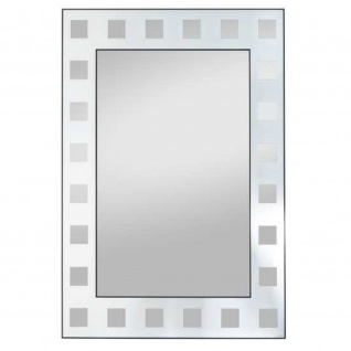 Siebdruckspiegel Lara 50x70cm, 2 fbg.(Motiv: Kästen)