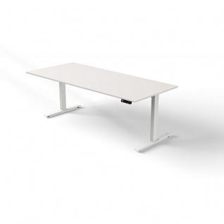 Kerkmann 3864 Schreibtisch- Stehtisch Move 3 1800 x1000 mm elektrisch höhenverstellbar 720 - 1200 cm Mit Memory-Funkton - 4 Höhen speicherbar