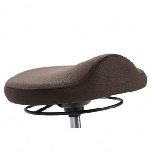 Mayer 1101 Pendelhocker mit ergonomisch geformtem Sitz Stoffausführung - Vorschau 3