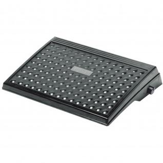Fußstütze BIO, höhenverstellbar, Farbe: schwarz