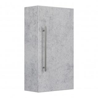 Badezimmer Badmöbel Hängeschrank 16x35x62cm
