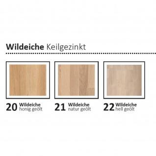 Moderner Massivholz Couchtisch CT 066 mit Edelstahl-Kufen - Vorschau 5