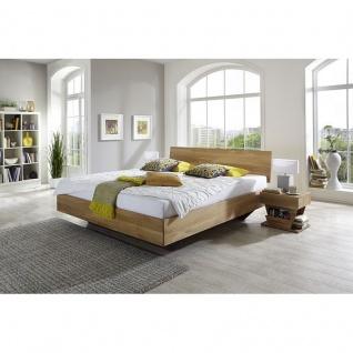 Modernes Einzelbett Doppelbett Massivholz Clover, Kernbuche/Wildeiche