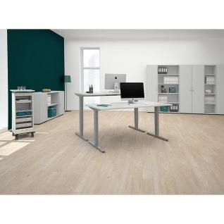 Elektro Flex Schreibtisch elektrisch höhenverstellbar 1200x800x650-1250cm diverse Dekore