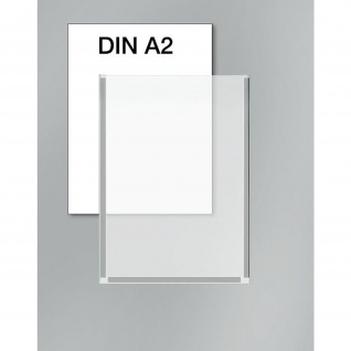Kerkmann 6948 Plakattasche DIN A 2 für Info Ständer breit