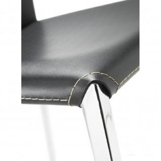 Mayer 1147 Barhocker myAlto chrom Lederfaserstoff schwarz - Vorschau 2