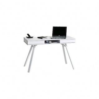 Schreibtisch Computertisch 4087, Push-to-open Schubladen, 120 x 78 x 64 cm