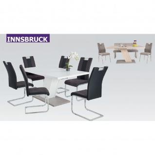 Esstisch Innsbruck weiss 160 x 90 cm