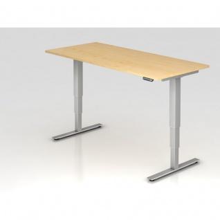 Hammerbacher Büro Schreibtisch Stehtisch höhenverstellbar 180x80 cm Modell XDSM19 mit Memory-Schalter