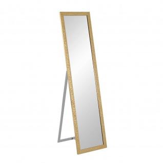 Standspiegel Pailettenoptik gold 156x40cm