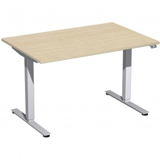 Elektro Smart Schreibtisch elektrisch höhenverstellbar 1200x800x700-1200 cm diverse Dekore - Vorschau 5