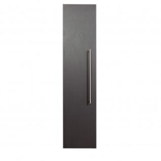 Badezimmer Badmöbel Hochschrank Hängeschrank HOMELINE 150cm anthrazit seidenglanz - Vorschau 2