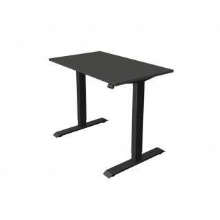 Kerkmann Schreibtisch Sitz- /Stehtisch Move 1 anthrazit 100x60x74-123 cm in verschiedenen Farben - Vorschau 4