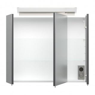 Posseik Schrank Spiegelschrank 17x75x62cm