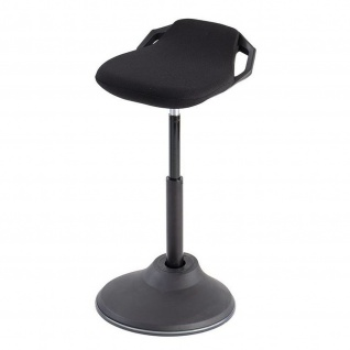 ALBA Sitzhocker Pendelhocker Stehhilfe FLEXY schwarz