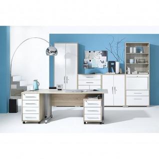 Maja Büroprogramm Schreibtisch inkl. Aktenschrank und Rollcontainer 12022556
